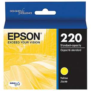 Original Epson T220420 (220 ink) inkjet cartridge - yellow