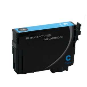 Remanufactured Epson T220XL220 (220XL ink) inkjet cartridge - high capacity cyan