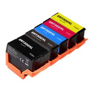 Remanufactured inkjet cartridges Multipack for Epson 302XL - 5 pack