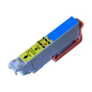 Remanufactured Epson T312XL220 (312XL) inkjet cartridge - high capacity cyan