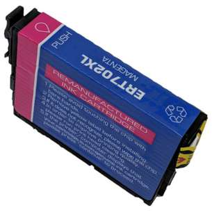 Remanufactured Epson T702XL320 (702XL) inkjet cartridge - high capacity magenta