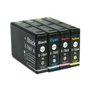 Remanufactured inkjet cartridges Multipack for Epson 786XL - 4 pack