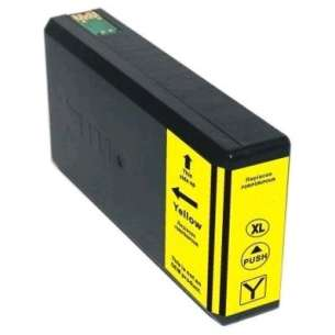 Remanufactured Epson T786XL420 (786XL ink) inkjet cartridge - high capacity yellow