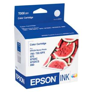 Original Epson T008201 inkjet cartridge - photo