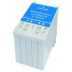 Remanufactured Epson T016201 inkjet cartridge - color cartridge