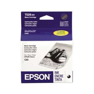 Original Epson T028201 inkjet cartridge - black cartridge