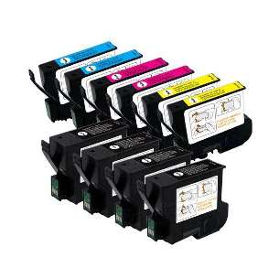 Remanufactured inkjet cartridges Multipack for Epson T032 / T042 - 10 pack