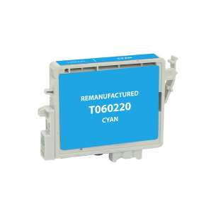 Remanufactured Epson t033220 inkjet cartridge - cyan