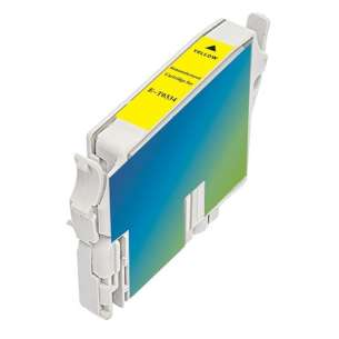 Remanufactured Epson t033420 inkjet cartridge - yellow