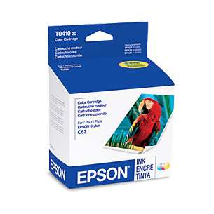 Original Epson T041020 inkjet cartridge - color cartridge