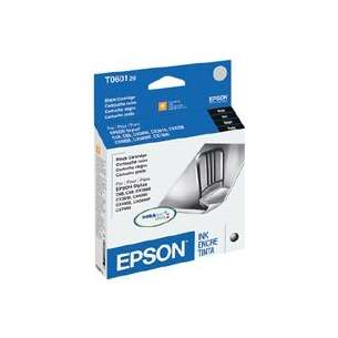 Original Epson T060120 (60 ink) inkjet cartridge - black cartridge