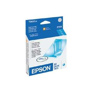 Original Epson T060220 (60 ink) inkjet cartridge - cyan