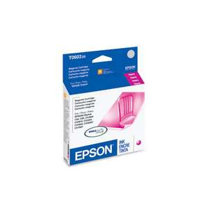 Original Epson T060320 (60 ink) inkjet cartridge - magenta