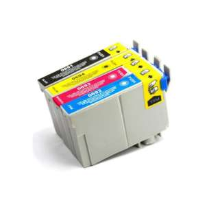 Remanufactured inkjet cartridges Multipack for Epson 69 - 4 pack