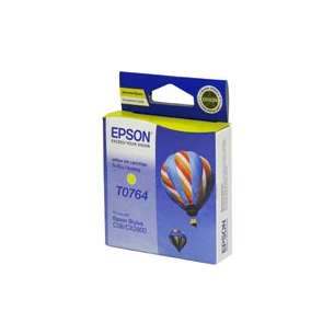 Original Epson T076490 inkjet cartridge - yellow