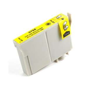 Remanufactured Epson T079420 (79 ink) inkjet cartridge - high capacity yellow