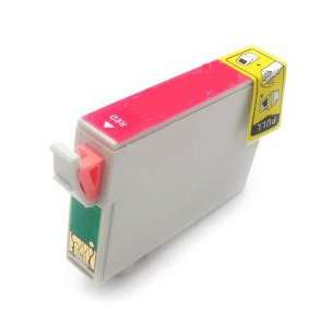 Remanufactured Epson T087720 (87 ink) inkjet cartridge - red