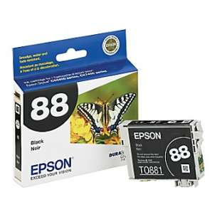 Original Epson T088120 (88 ink) inkjet cartridge - black cartridge