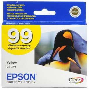 Original Epson T099420 (99 ink) inkjet cartridge - yellow