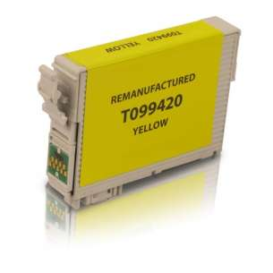Remanufactured Epson T099420 (99 ink) inkjet cartridge - yellow