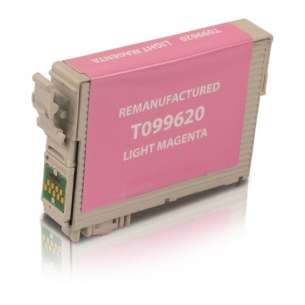 Remanufactured Epson T099620 (99 ink) inkjet cartridge - light magenta
