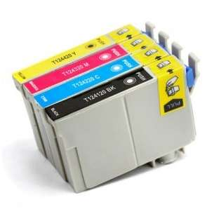 Remanufactured inkjet cartridges Multipack for Epson 124 - 4 pack