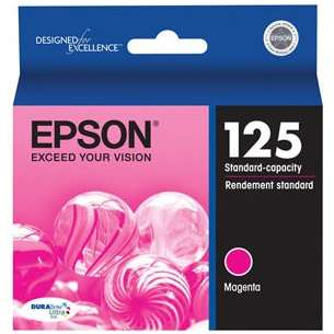 Original Epson T125320 (125 ink) inkjet cartridge - magenta
