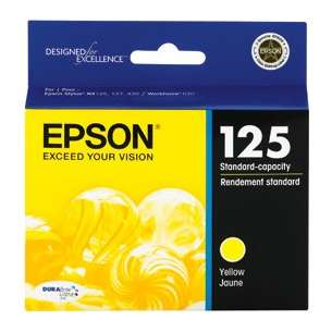 Original Epson T125420 (125 ink) inkjet cartridge - yellow