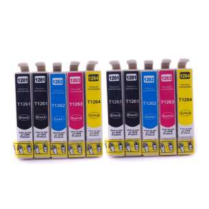Remanufactured inkjet cartridges Multipack for Epson 126 - 10 pack