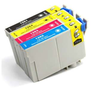 Remanufactured inkjet cartridges Multipack for Epson 126 - 4 pack