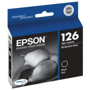 Original Epson T126120 (126 ink) inkjet cartridge - high capacity black