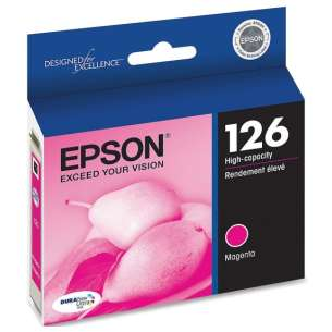Original Epson T126320 (126 ink) inkjet cartridge - high capacity magenta