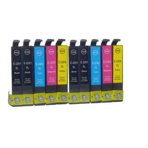 Remanufactured inkjet cartridges Multipack for Epson 127 - 10 pack