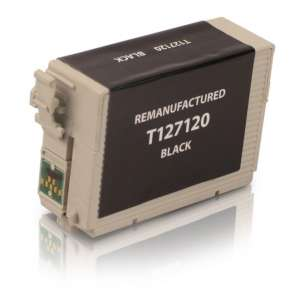 Remanufactured Epson T127120 (127 ink) inkjet cartridge - extra high capacity pigmented black