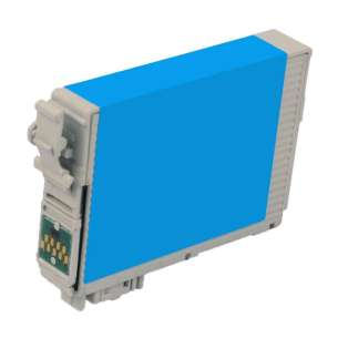Remanufactured Epson T127220 (127 ink) inkjet cartridge - extra high capacity pigmented cyan