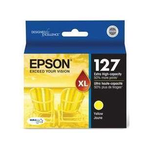 Original Epson T127420 (127 ink) inkjet cartridge - extra high capacity yellow