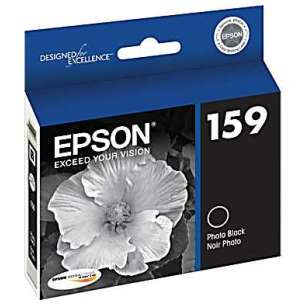 Original Epson T159120 (159 ink) inkjet cartridge - photo black
