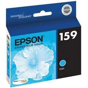 Original Epson T159220 (159 ink) inkjet cartridge - photo cyan