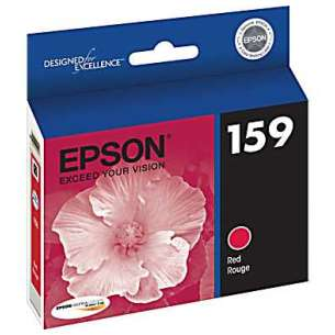 Original Epson T159720 (159 ink) inkjet cartridge - photo red