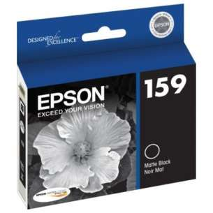 Original Epson T159820 (159 ink) inkjet cartridge - matte black