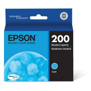 Original Epson T200220 (200 ink) inkjet cartridge - cyan