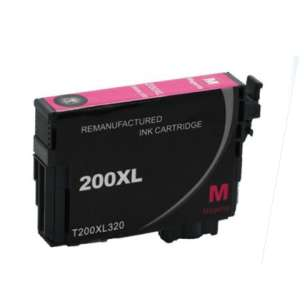 Remanufactured Epson T200XL320 (200XL ink) inkjet cartridge - high capacity magenta (not for Epson XP-310 or Epson XP-410)