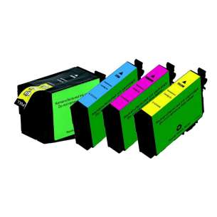 Remanufactured inkjet cartridges Multipack for Epson 252XL - 4 pack