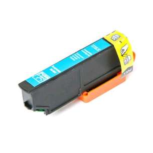 Remanufactured Epson T273XL220 (273XL ink) inkjet cartridge - high capacity cyan