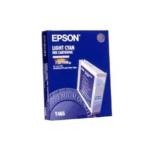 Original Epson T465011 inkjet cartridge - light cyan