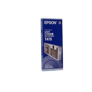Original Epson T479011 inkjet cartridge - light cyan