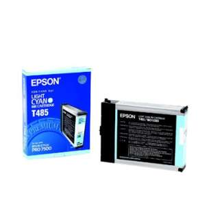 Original Epson T485011 inkjet cartridge - light cyan