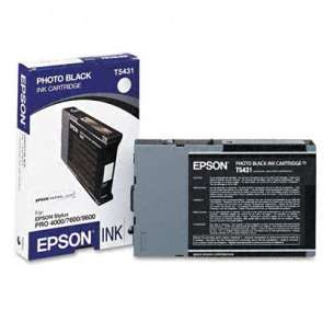 Original Epson T543100 inkjet cartridge - photo black