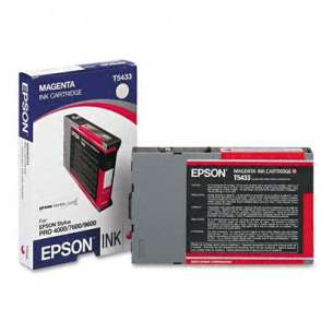 Original Epson T543300 inkjet cartridge - magenta