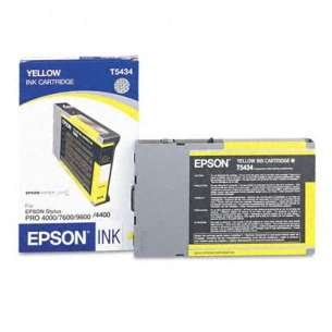 Original Epson T543400 inkjet cartridge - yellow